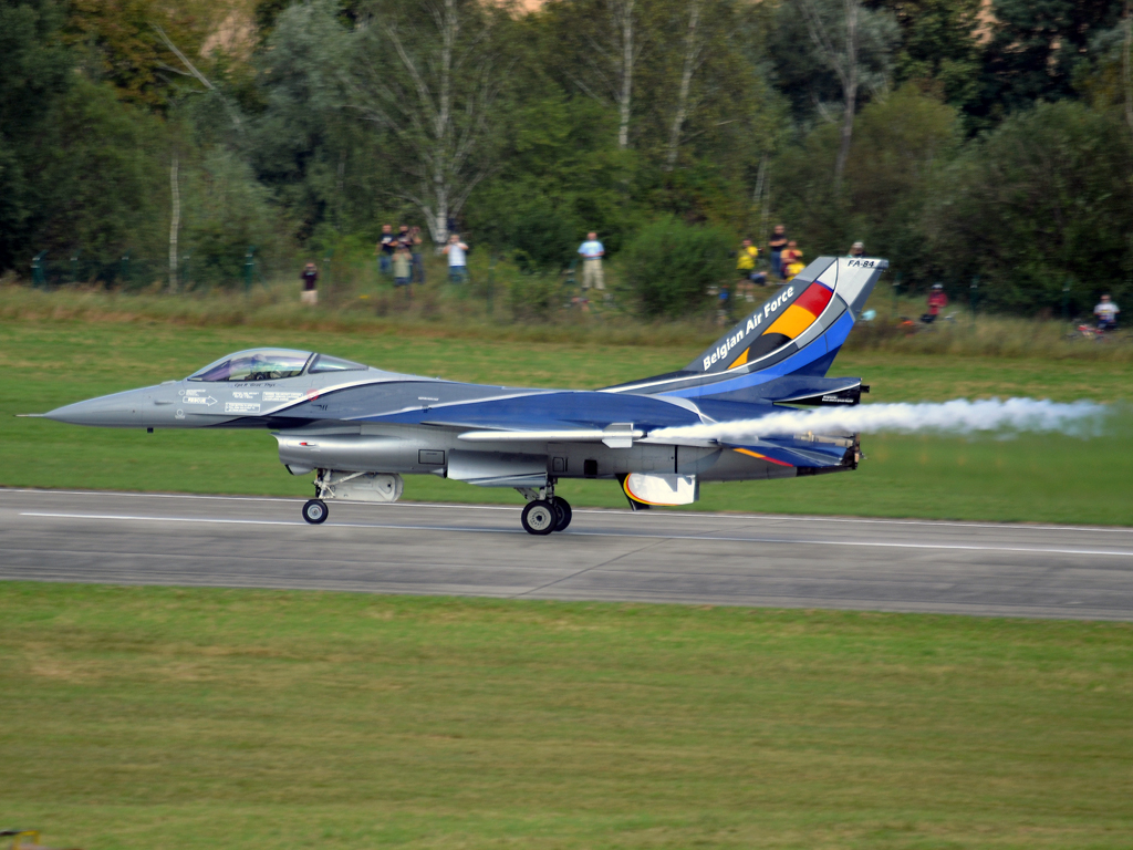 General Dynamics F-16AM Fighting Falcon Belgium Air Force FA-84 Hradec_Kralove (LKHK) September_08_2012