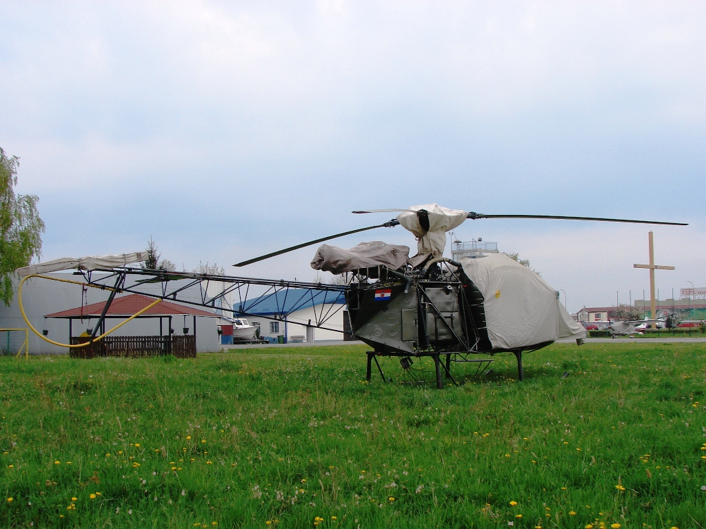 Sud SA-313B Alouette II Untitled 9A-HAT Osijek_Čepin (OSI/LDOC) April_14_2009