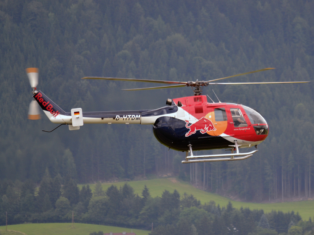 MBB BO-105CB-4 The Flying Bulls D-HTDM Zeltweg (LOXZ) July_01_2011