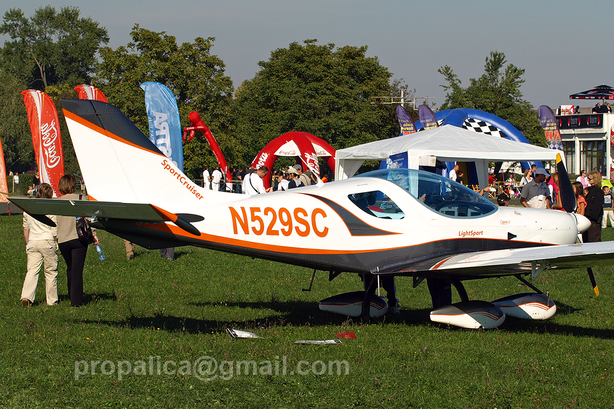 Czech Aircraft Works Sport Cruiser Untitled N529SC Zagreb_Lucko September_22_2007