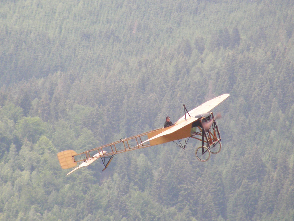 Bleriot XI (replica) Untitled Zeltweg (LOXZ) June_27_2009