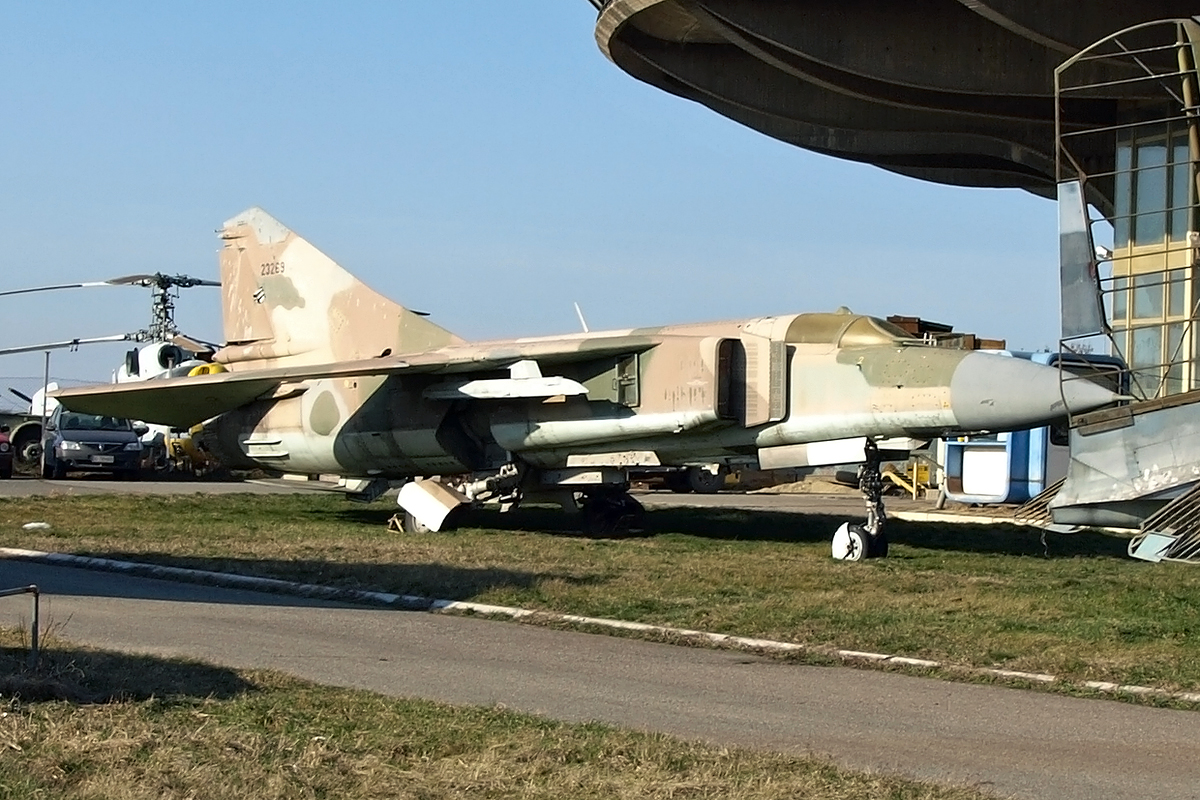 Mikoyan-Gurevich MiG-23ML Iraq Air Force 26105 Beograd_Surcin February_17_2008