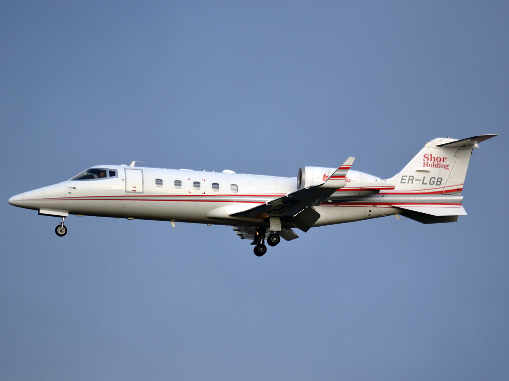Learjet 60 Air Klassika ER-LGB Prague_Ruzyne (PRG/LKPR) December_23_2011
