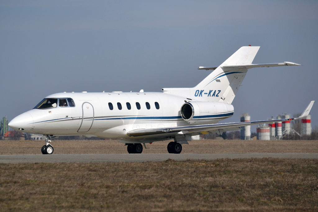 Hawker Beechcraft 900XP Grossmann Jet Service OK-KAZ Prague_Ruzyne (PRG/LKPR) March_24_2013