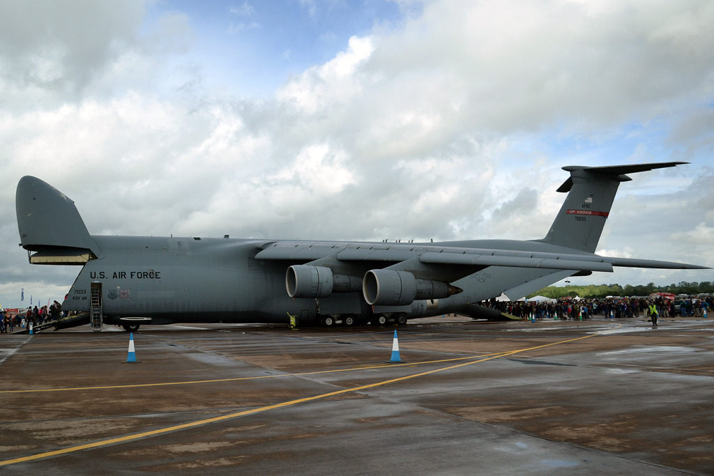 Lockheed C-5B Galaxy L-500 USA Air Force 87-0033 Fairford (FFD/EGVA) July_07_2012