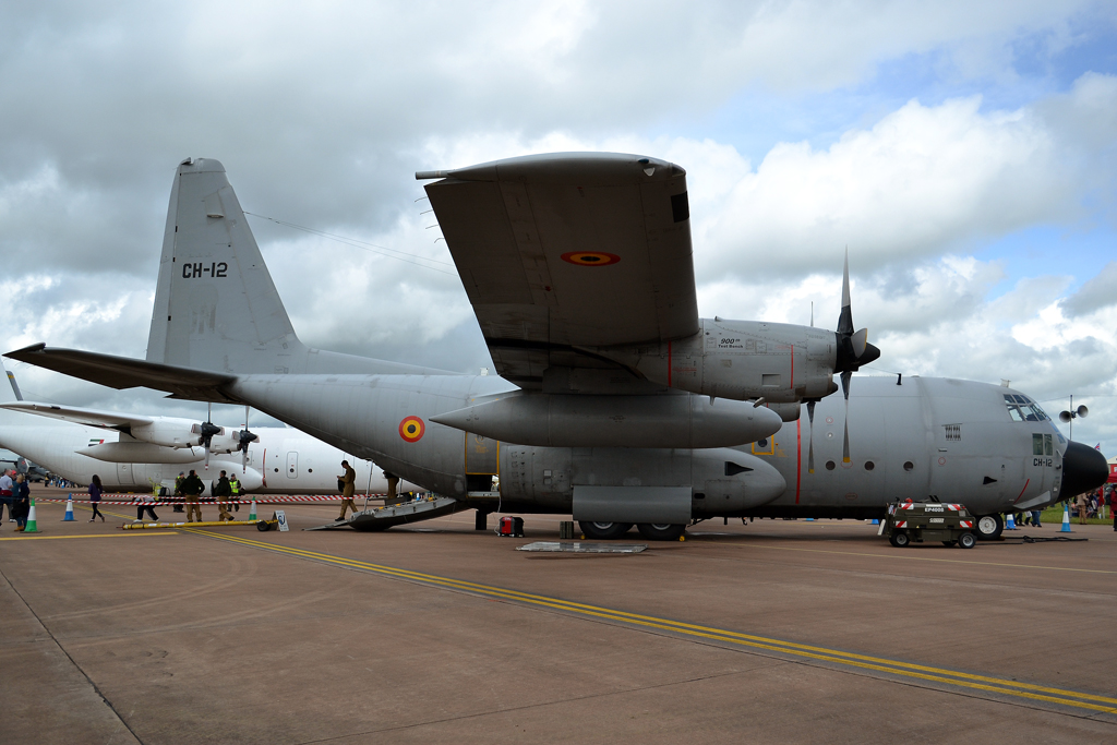 Lockheed C-130H Hercules L-382 Belgium Air Force CH-12 Fairford (FFD/EGVA) July_07_2012