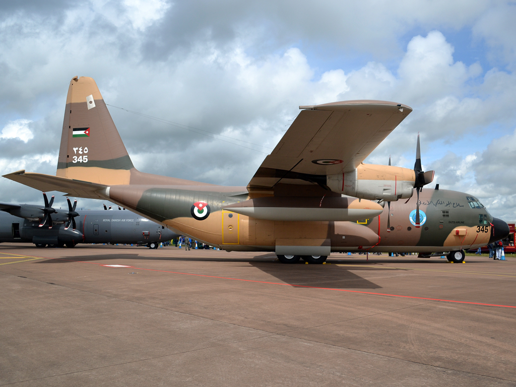 Lockheed C-130H Hercules L-382 Jordan Air Force 345 Fairford (FFD/EGVA) July_07_2012