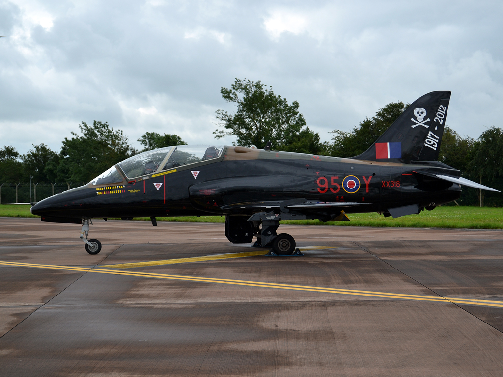 British Aerospace Hawk T1A UK Royal Air Force XX318 Fairford (FFD/EGVA) July_07_2012