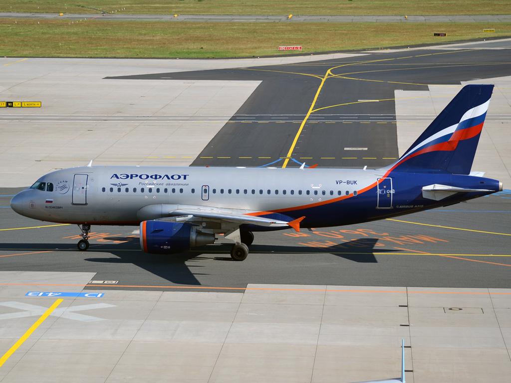 A319-112 Aeroflot Russian Airlines VP-BUK Frankfurt_Main (FRA/EDDF) May_26_2012