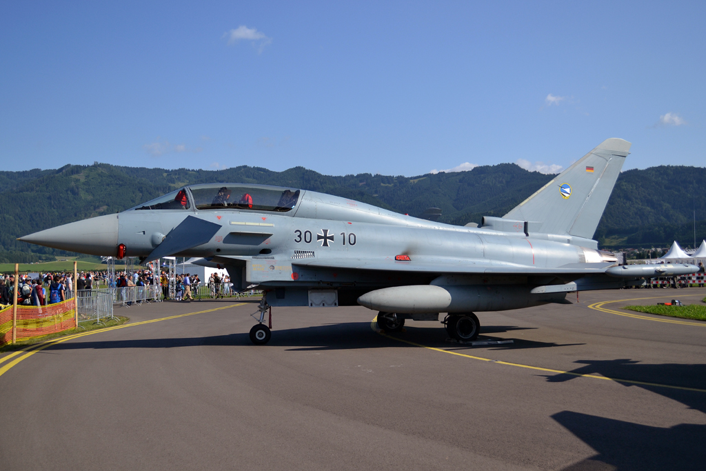 Eurofighter EF-2000 Typhoon Germany Air Force (Luftwaffe) 30+10 Zeltweg (LOXZ) July_01_2011