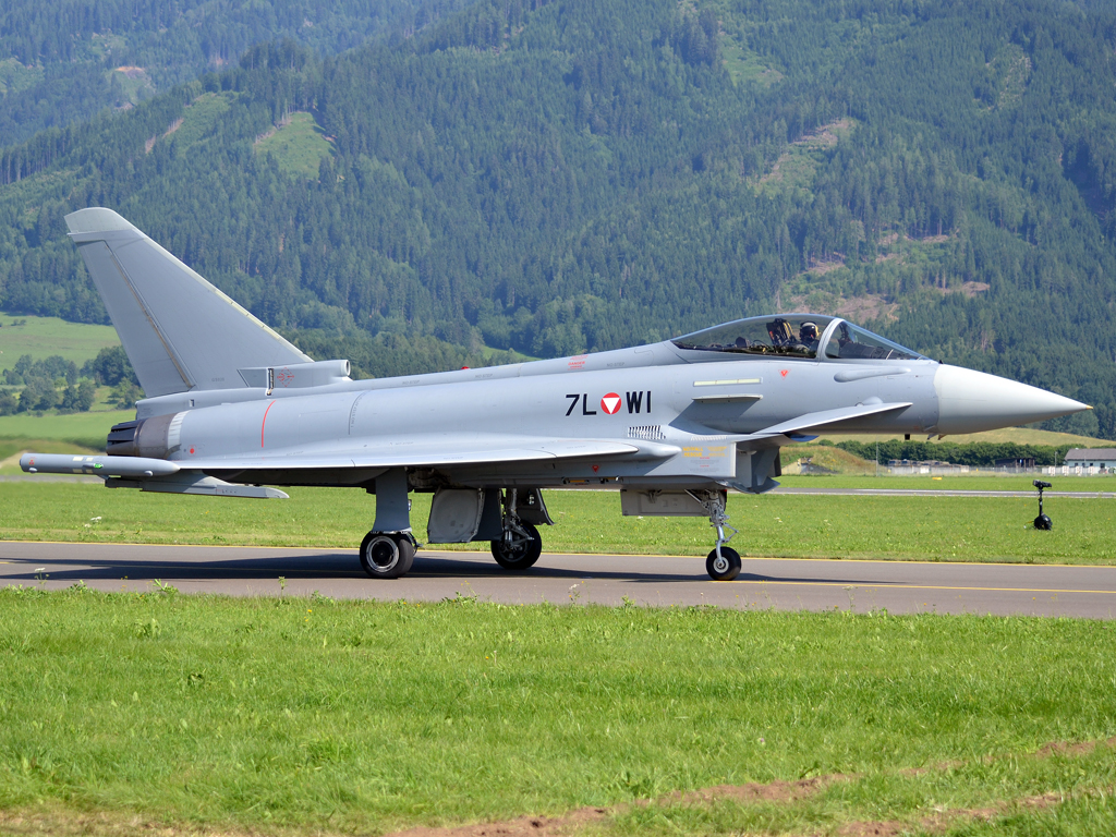 Eurofighter EF-2000S Typhoon Austria Air Force 7L-WI Zeltweg (LOXZ) July_01_2011