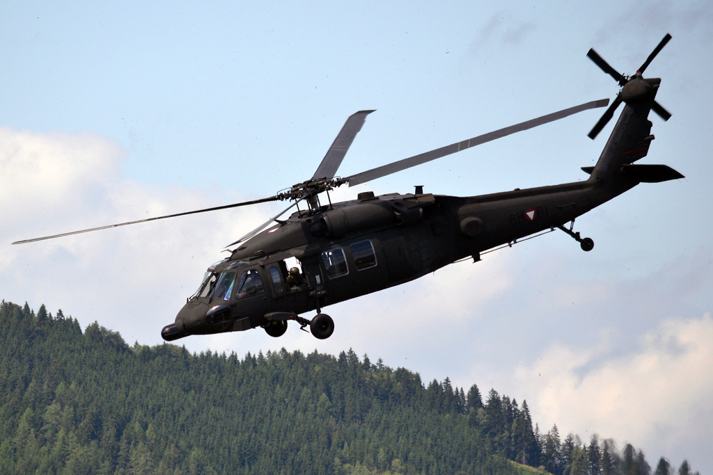 Sikorsky S-70A-42 Black Hawk Austria Air Force 6M-BI Zeltweg (LOXZ) July_01_2011