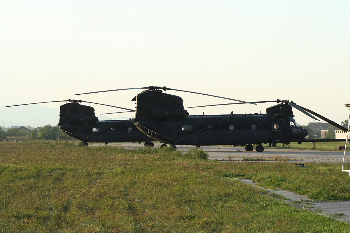 Boeing MH-47G Chinook US Army 07-03774 Zagreb_Lučko (LDZL) September_10_2012