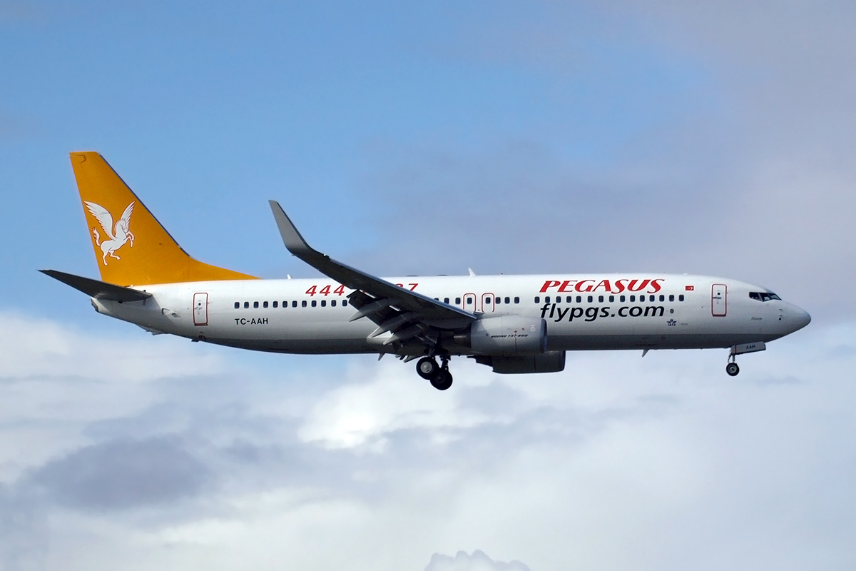 B737-82R Pegasus Airlines Amsterdam_Schiphol March_25_2008