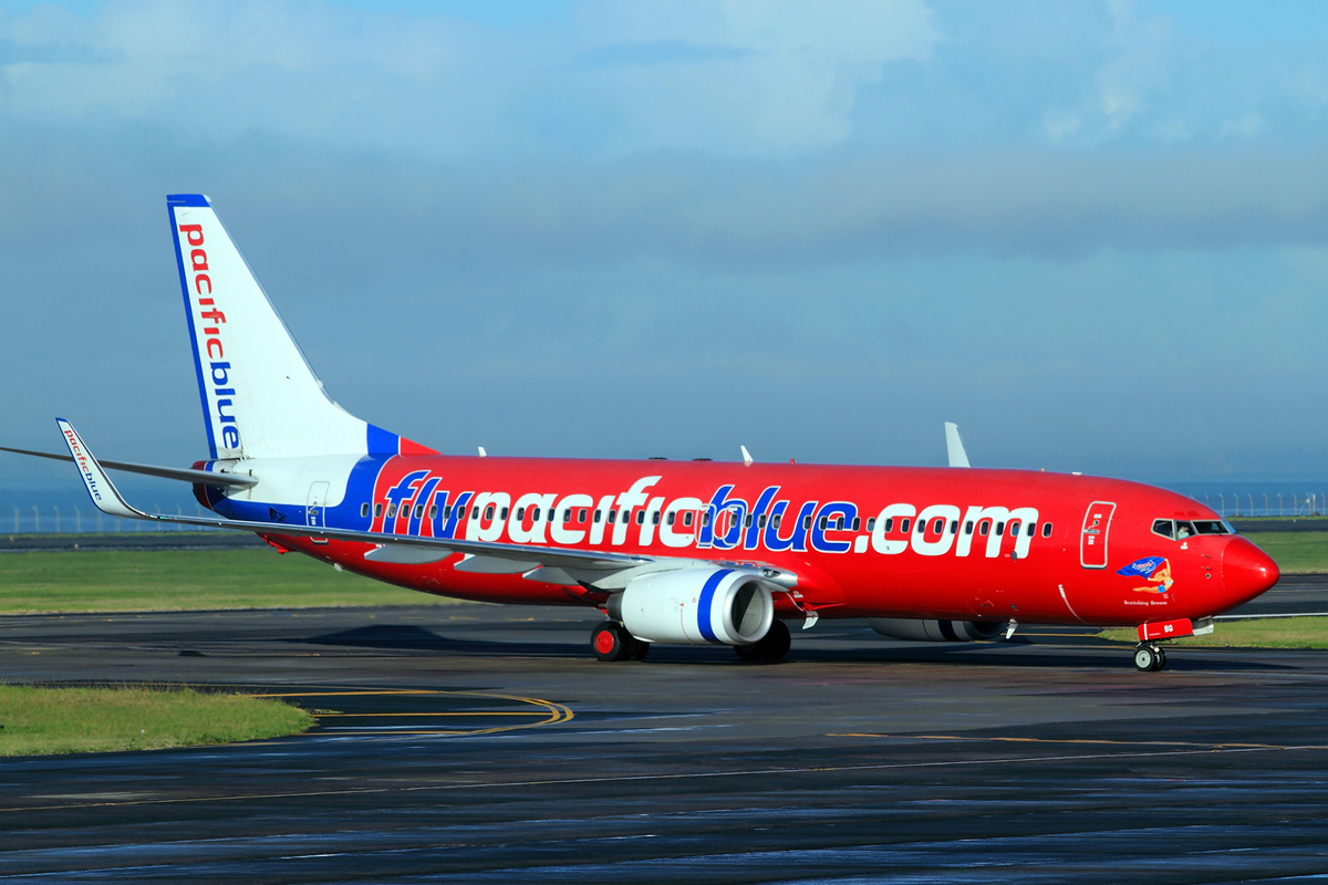 B737-8FE Pacific Blue Airlines ZK-PBG Auckland May_17_2010