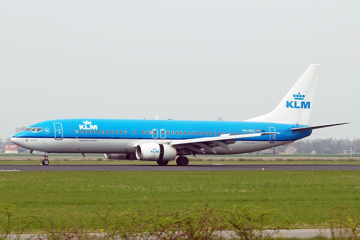 B737-8K2 KLM - Royal Dutch Airlines PH-BXC Amsterdam Schiphol April_21_2006