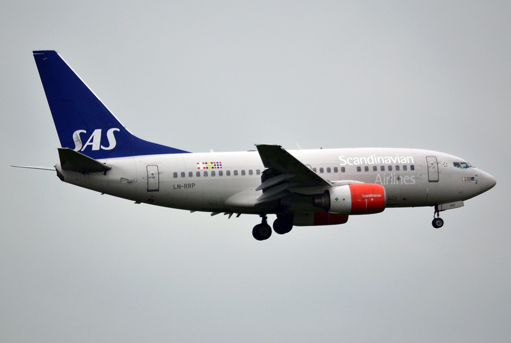 B737-683 SAS Scandinavian Airlines LN-RRP Prague_Ruzyne (PRG/LKPR) June_01_2013