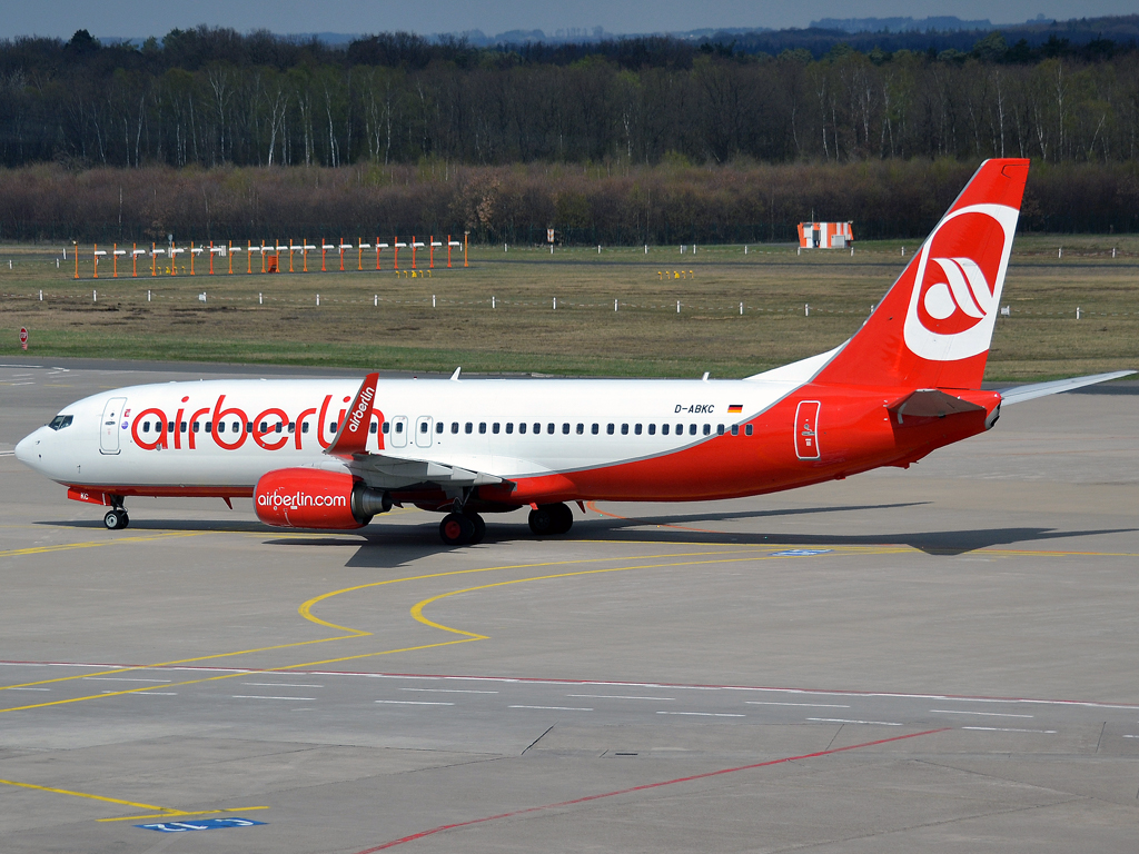 B737-86J Air Berlin D-ABKC Cologne_Bonn (CGN/EDDK) April_08_2012