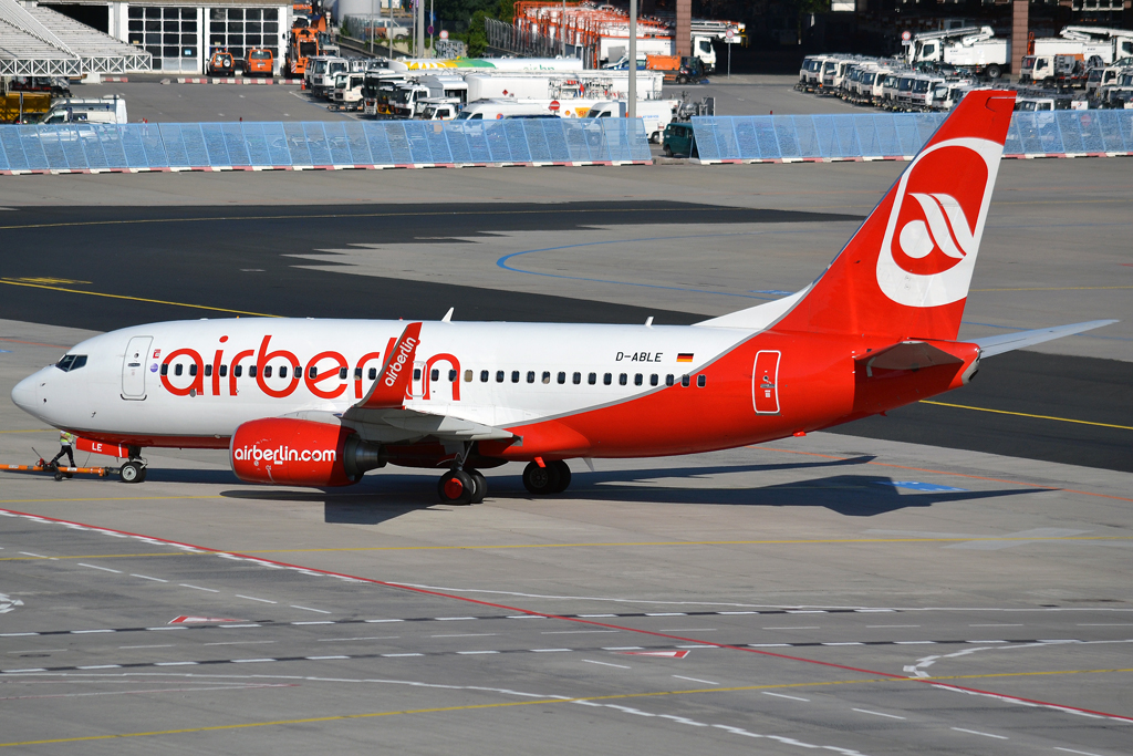 B737-76J Air Berlin D-ABLE Frankfurt_Main (FRA/EDDF) May_26_2012