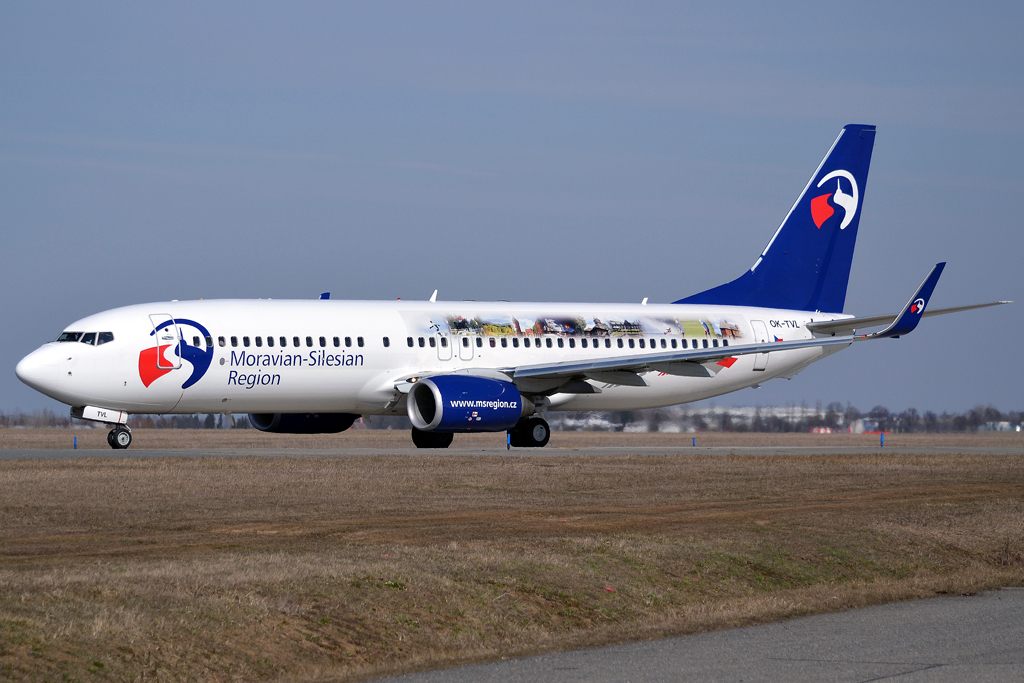 B737-8FH Travel Service OK-TVL Prague_Ruzyne (PRG/LKPR) March_24_2013