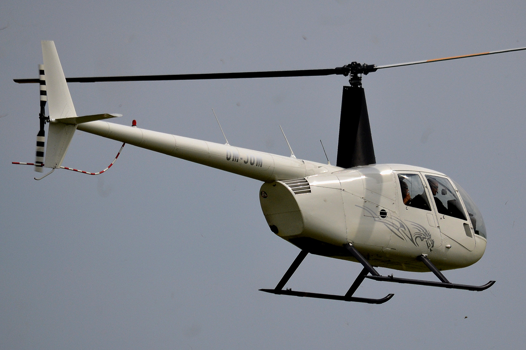 Robinson R-44 Raven I Private OM-JOM Holic (LZHL) July_23_2011