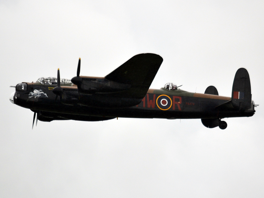 Avro 683 Lancaster B1 UK Royal Air Force PA474 Fairford (FFD/EGVA) July_07_2012