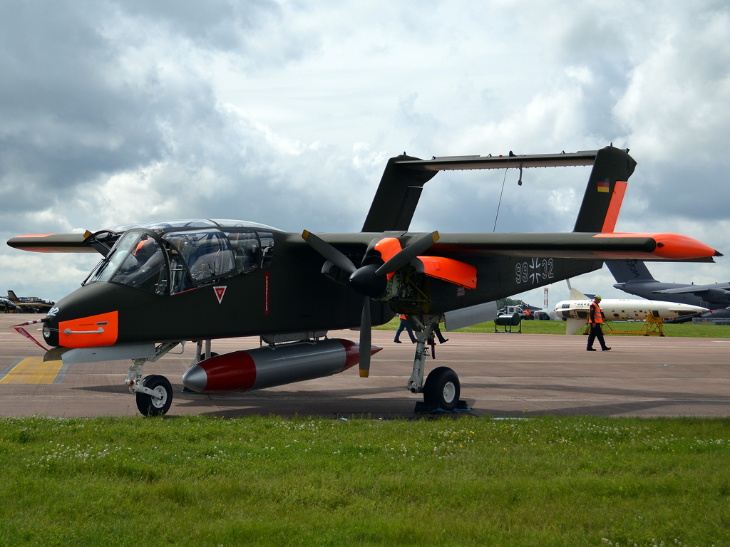 Rockwell OV-10B Bronco Private G-BZGK Fairford (FFD/EGVA) July_07_2012