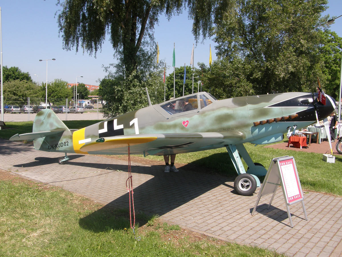 Messerschmitt Bf-109G (replica) Untitled OK-KUD02 Prague_Letnany (LKLT) May_24_2009