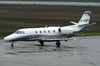 Cessna 560 XL Citation XLS D-CRON Silver Cloud Air Osijek_Klisa (LDOS) November_14_2013