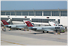 DC-9-41 Northwest Airlines N758NW Detroit Metropolitan Wayne County Airport August_2_2007