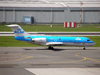 Fokker 70 (F-28-0070) KLM Cityhopper PH-KZT Prague_Ruzyne July_02_2009