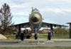 Mikoyan-Gurevich MiG-21bis Croatia Air Force 107 Off Airport Vukovar April_12_2012.