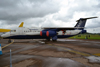 BAe-146-301ARA Facility for Airborne Atmospheric Measurements FAAM G-LUXE Fairford (FFD/EGVA) July_07_2012