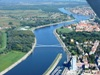 Osijek airview from Cessna 172, 9A-DEF