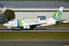 B737-7K2 Transavia PH-XRZ Prague_Ruzyne (PRG/LKPR) October_2_2011