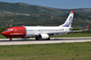 B737-8Q8 Norwegian Air Shuttle LN-NOE Split_Resnik (SPU/LDSP) August_6_2011