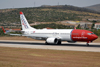 B737-8Q8 Norwegian Air Shuttle LN-NOL Split_Resnik (SPU/LDSP) August_10_2013