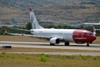 B737-81Q Norwegian Air Shuttle LN-NOC Split_Resnik (SPU/LDSP) August_10_2013