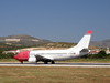 B737-36Q Norwegian Air Shuttle LN-KKQ Split_Resnik August_08_2009